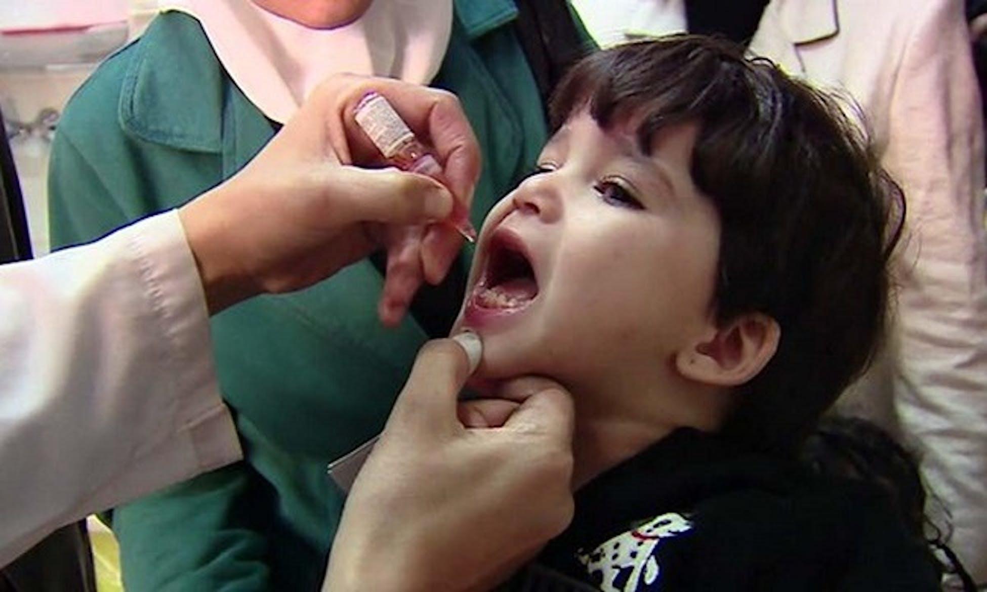 Vaccinazione contro la polio nella provincia di Anbar (Iraq) - ©UNICEF Iraq/2014/Gopinath Durairajan