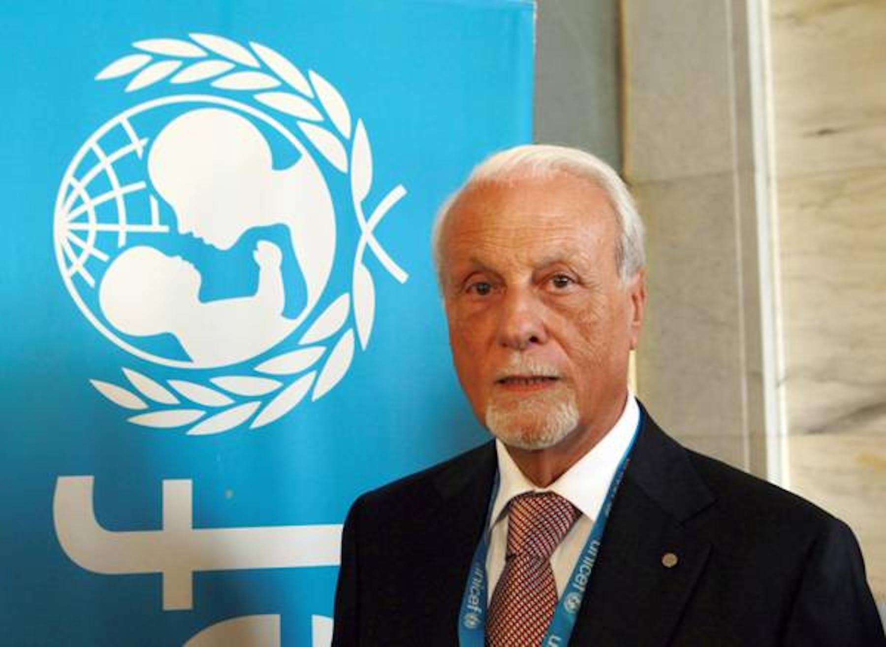 Giacomo Guerrera, confermato nella carica di Presidente dell'UNICEF Italia per il triennio 2014-2016