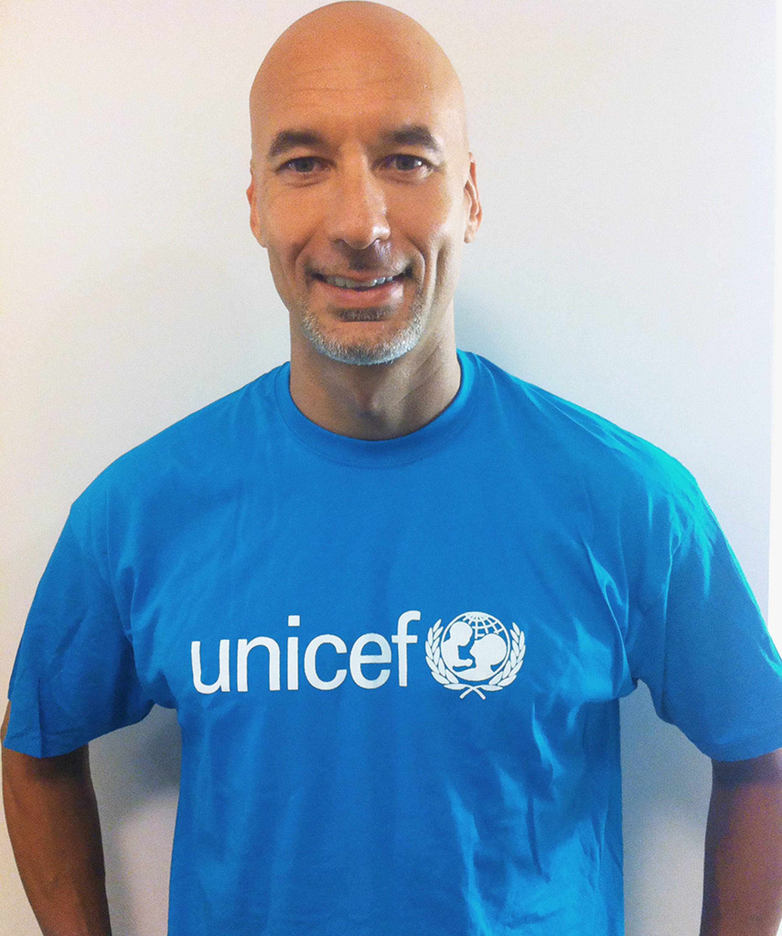 Luca Parmitano, Ambasciatore UNICEF