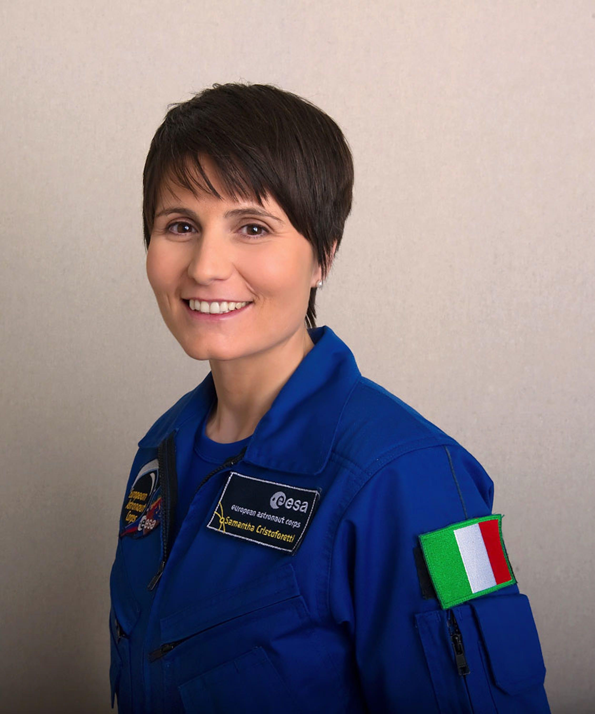 L'astronauta italiana dell'ESA Samantha Cristoforetti - ©ESA - P. Sebirot 2012