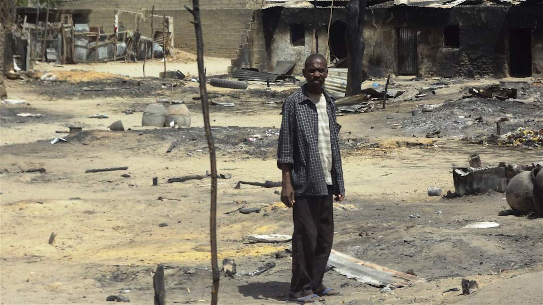 Un quartiere della città di Baga praticamente raso al suolo dai terroristi di Boko Haram - ©IRIN/Aminu Abubakar