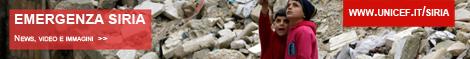 Speciale Siria: news, video, foto e informazioni sull'azione umanitaria dell'UNICEF per i bambini siriani