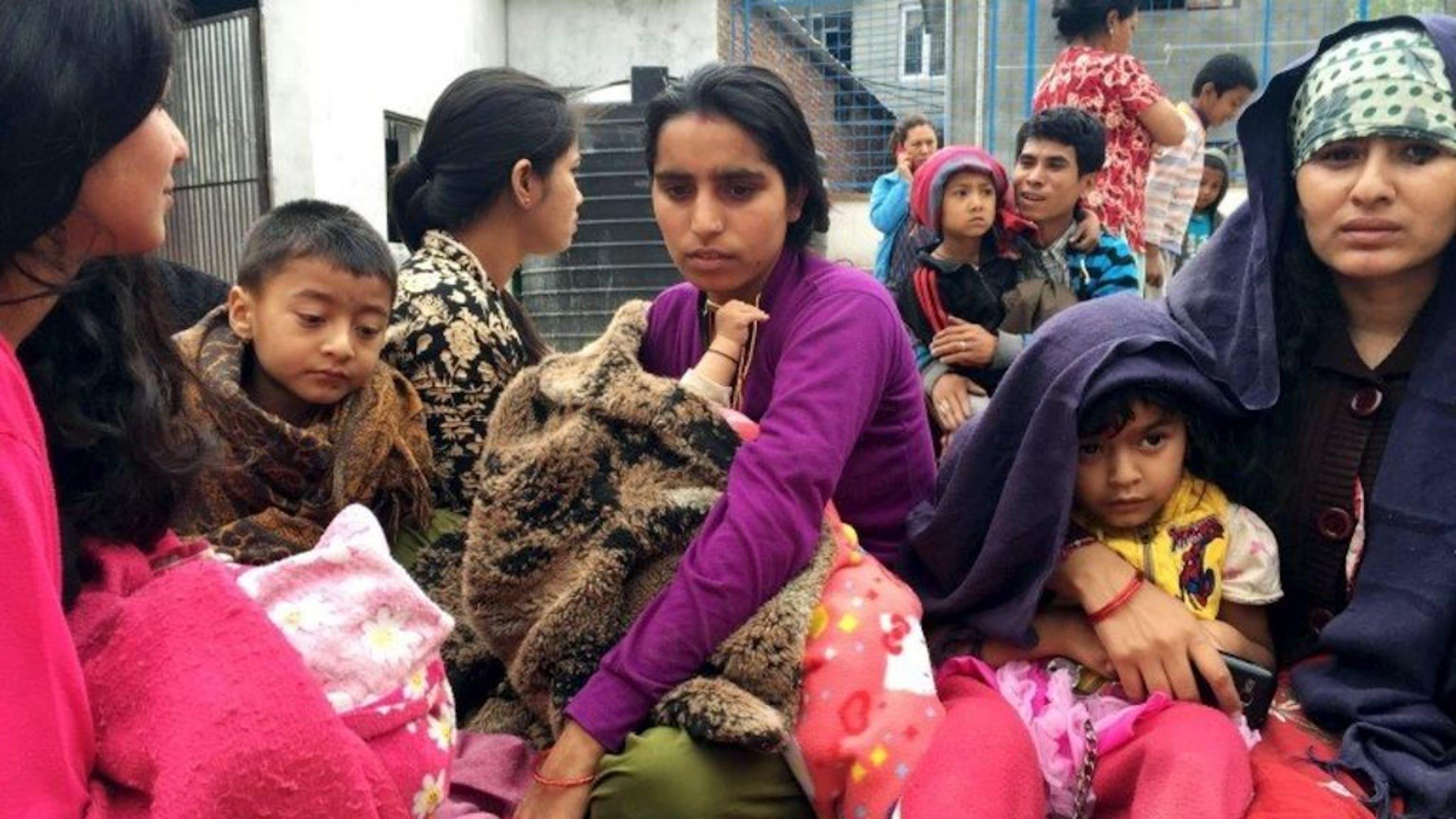 I bambini costituiscono circa il 40% della popolazione nepalese - ©REUTERS