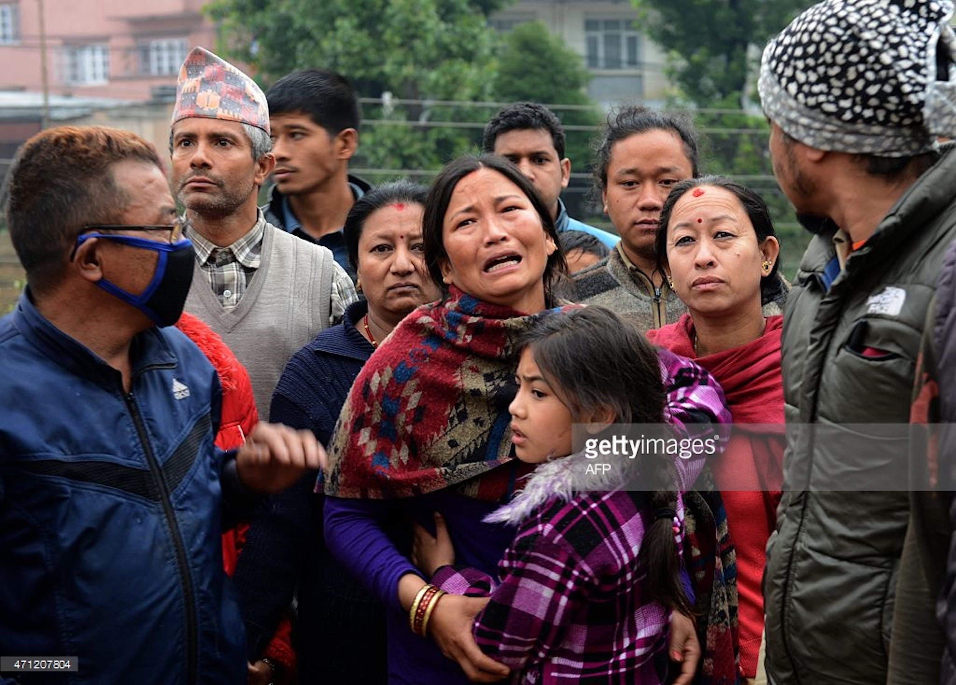 Sfollati a Kathmandu, capitale del Nepal - ©Omar Havan/Stringer per gentile concessione di Getty Images a UNICEF
