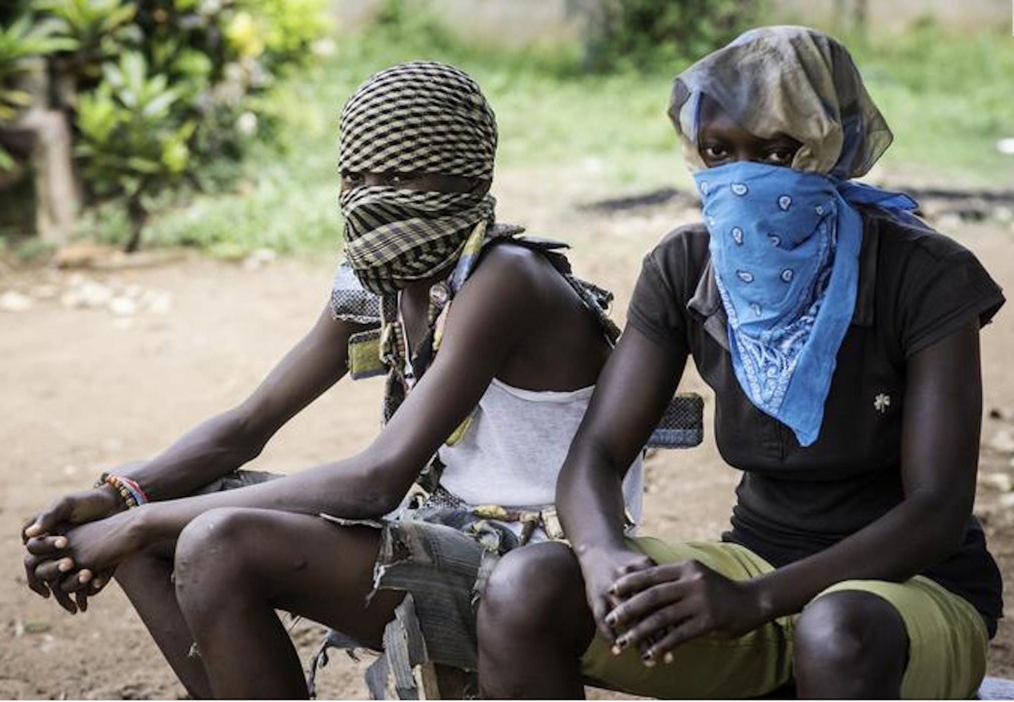 Giovanissimi combattenti nella Repubblica Centrafricana - ©ANSA
