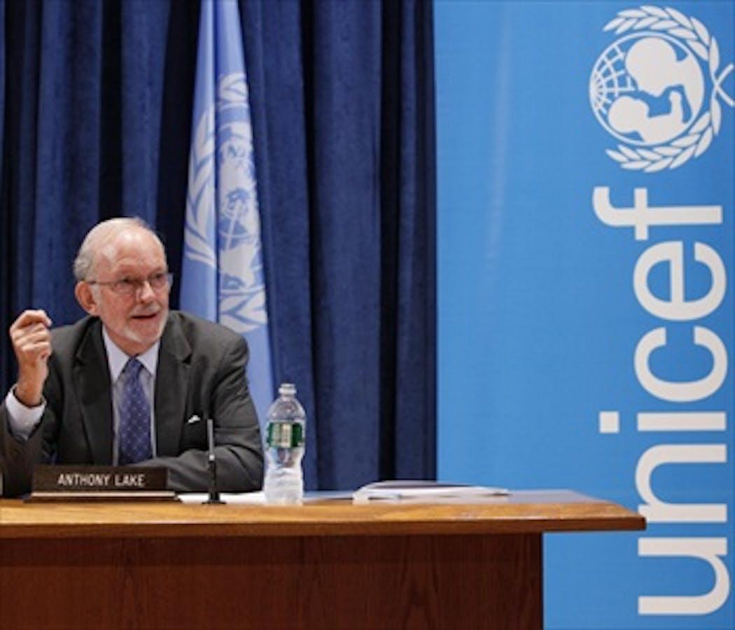 Anthony Lake, Direttore esecutivo dell'UNICEF