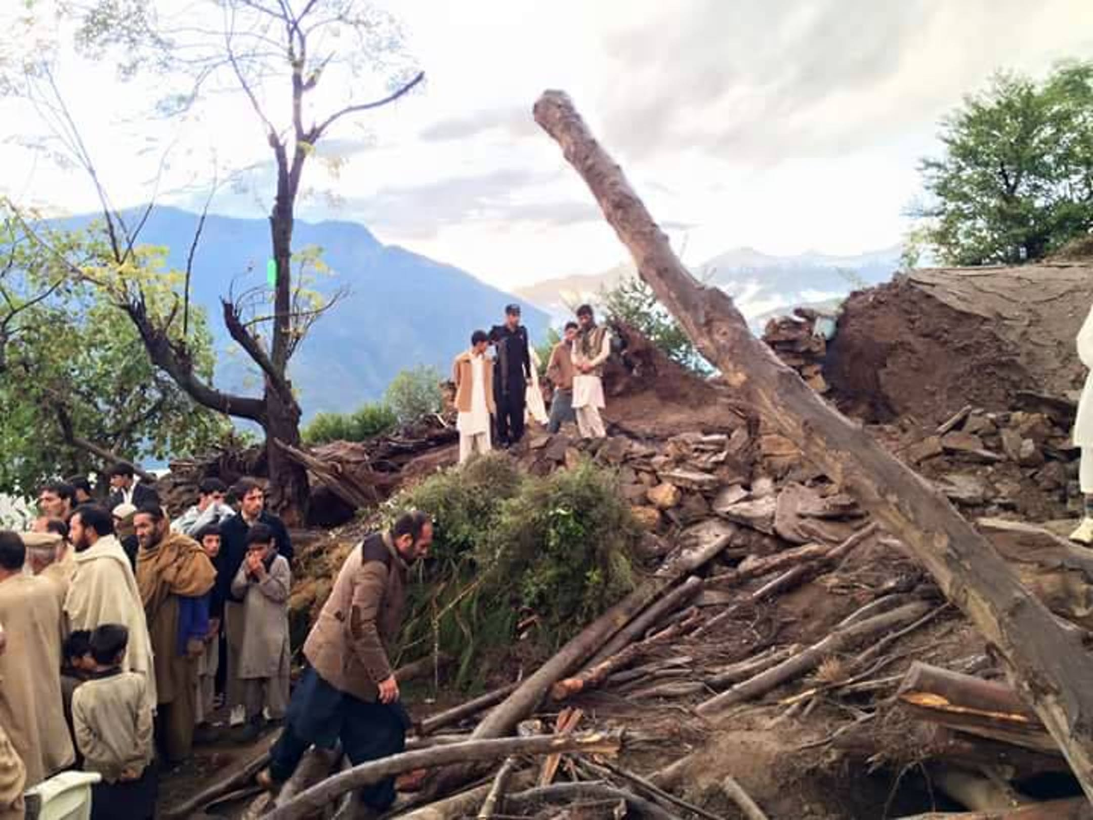 Una scena del dopo terremoto a Shangla, Pakistan - ©UNICEF Pakistan