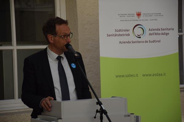 Il direttore dei comprensori sanitari di Bressanone e di Brunico, Walter Amhof - ©UNICEF Italia/2016