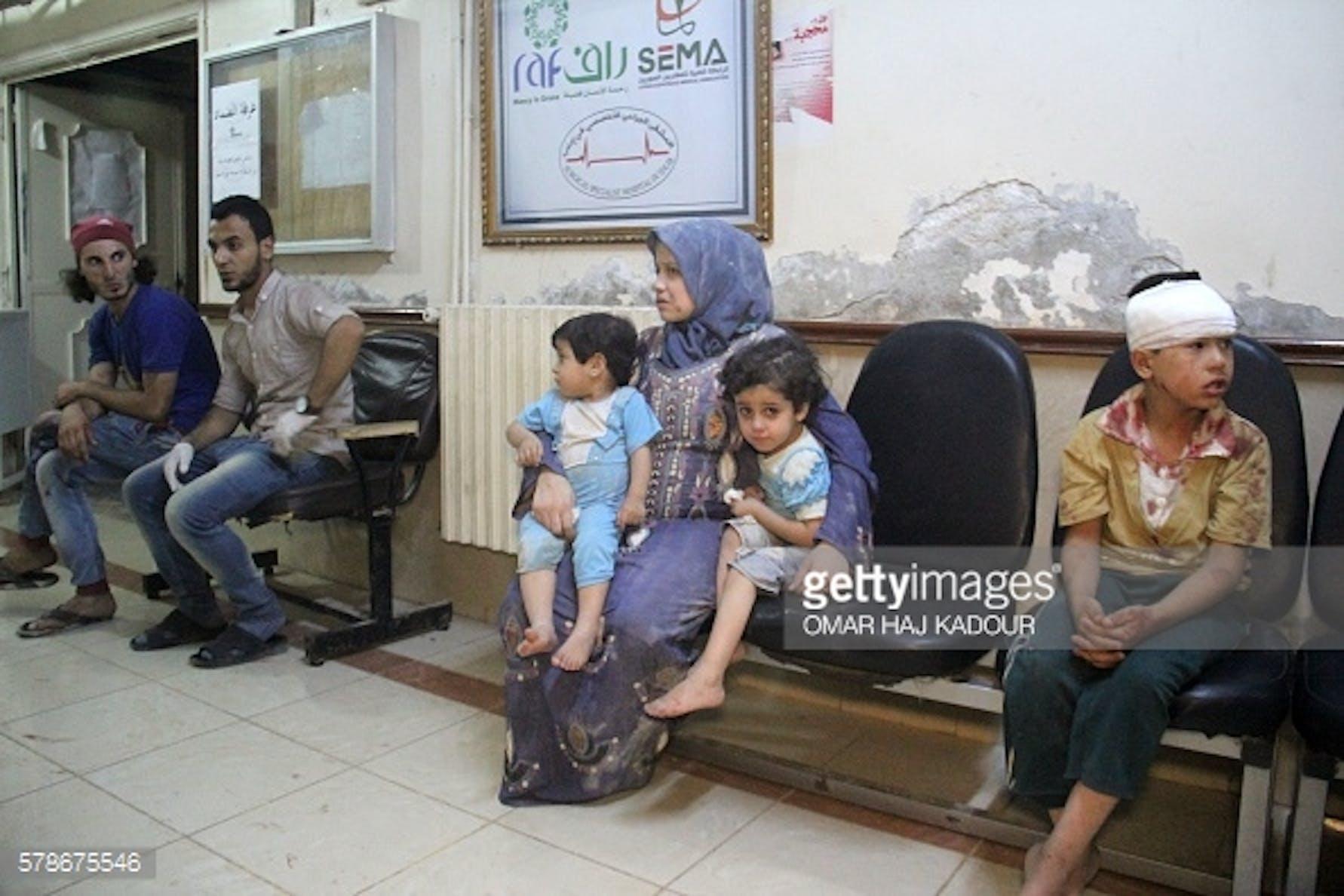 OMAR HAJ KADOUR/AFP/Getty Images
