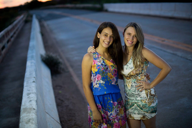 Winny (17 anni) e Jessica (20) sono state vittime di gravi atti di cyber-bullismo e oggi, grazie all'UNICEF, sono attiviste per la lotta al bullismo e al sessismo nel loro paese, il Brasile - ©UNICEF/UN017648/Ueslei Marcelino