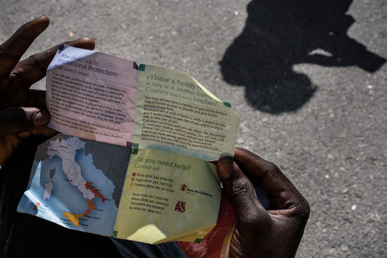 Il 92% dei minorenni che sono giunti in Italia nel 2016 sono non accompagnati da familiari adulti - ©UNICEF/UN020013/Gilbertson