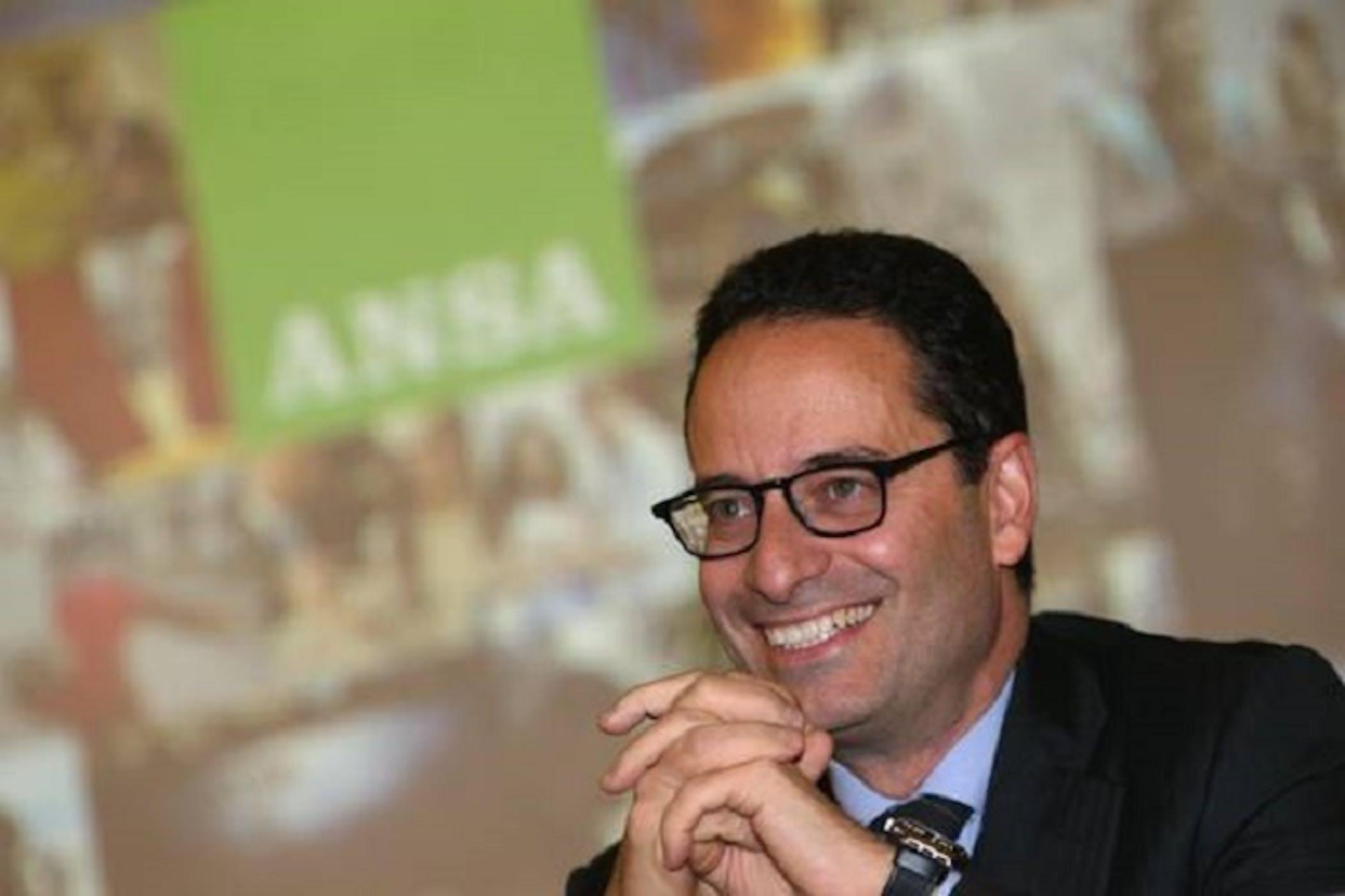 Luigi Contu, direttore dell'ANSA