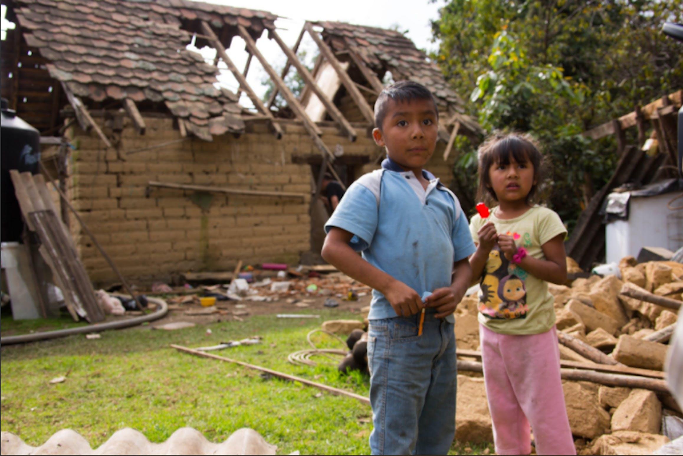 In Messico sono 7 milioni i bambini che vivono in aree colpite dai terremoti dell'8 e 19 settembre - ©UNICEF Mexico/2017