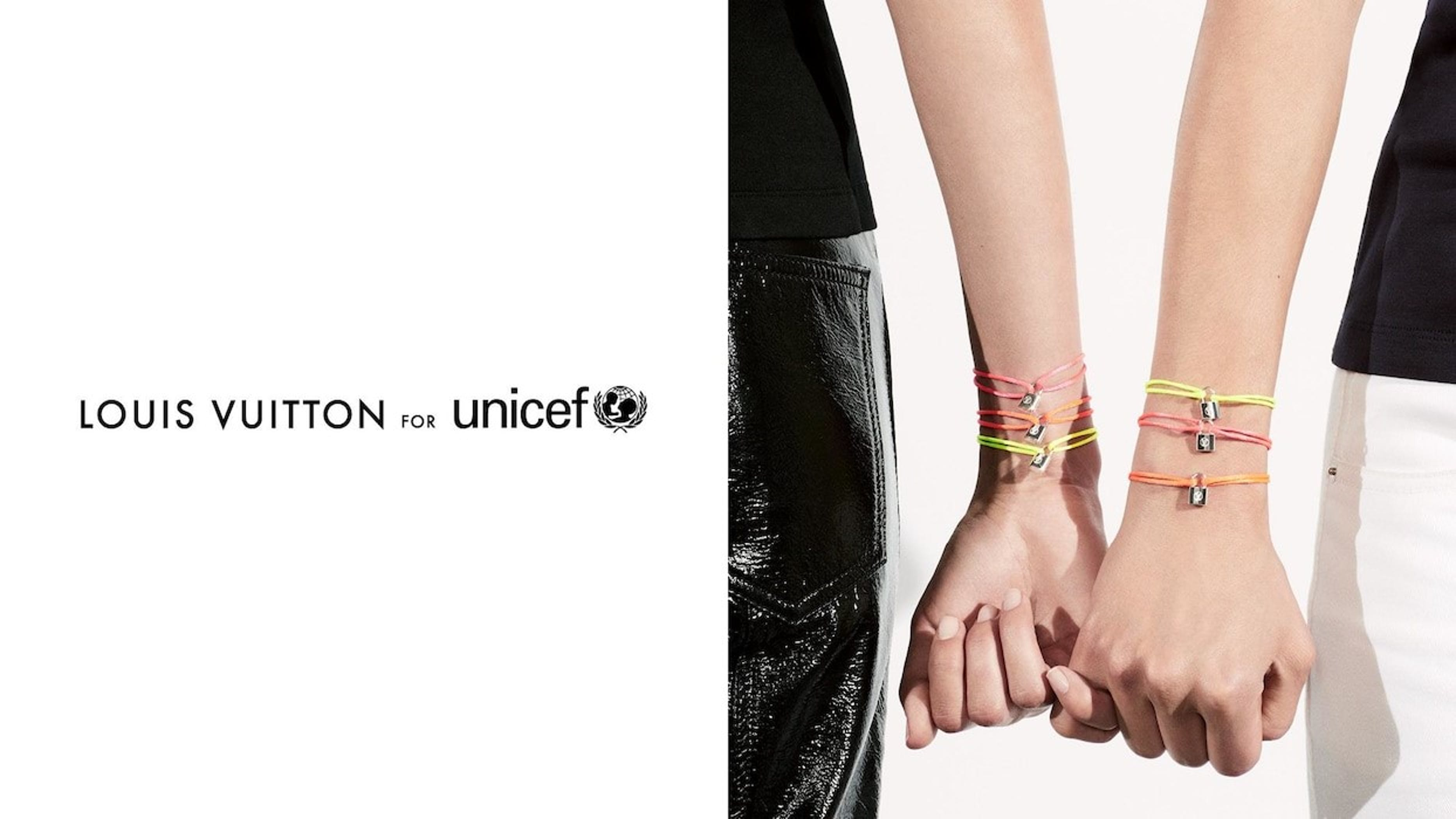 UNICEF e Louis Vuitton, con #Makeapromise l'amore non ha confini