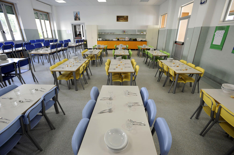 Una mensa scolastica (foto simbolo, fonte: http://www.scuolamariaimmacolata.org)