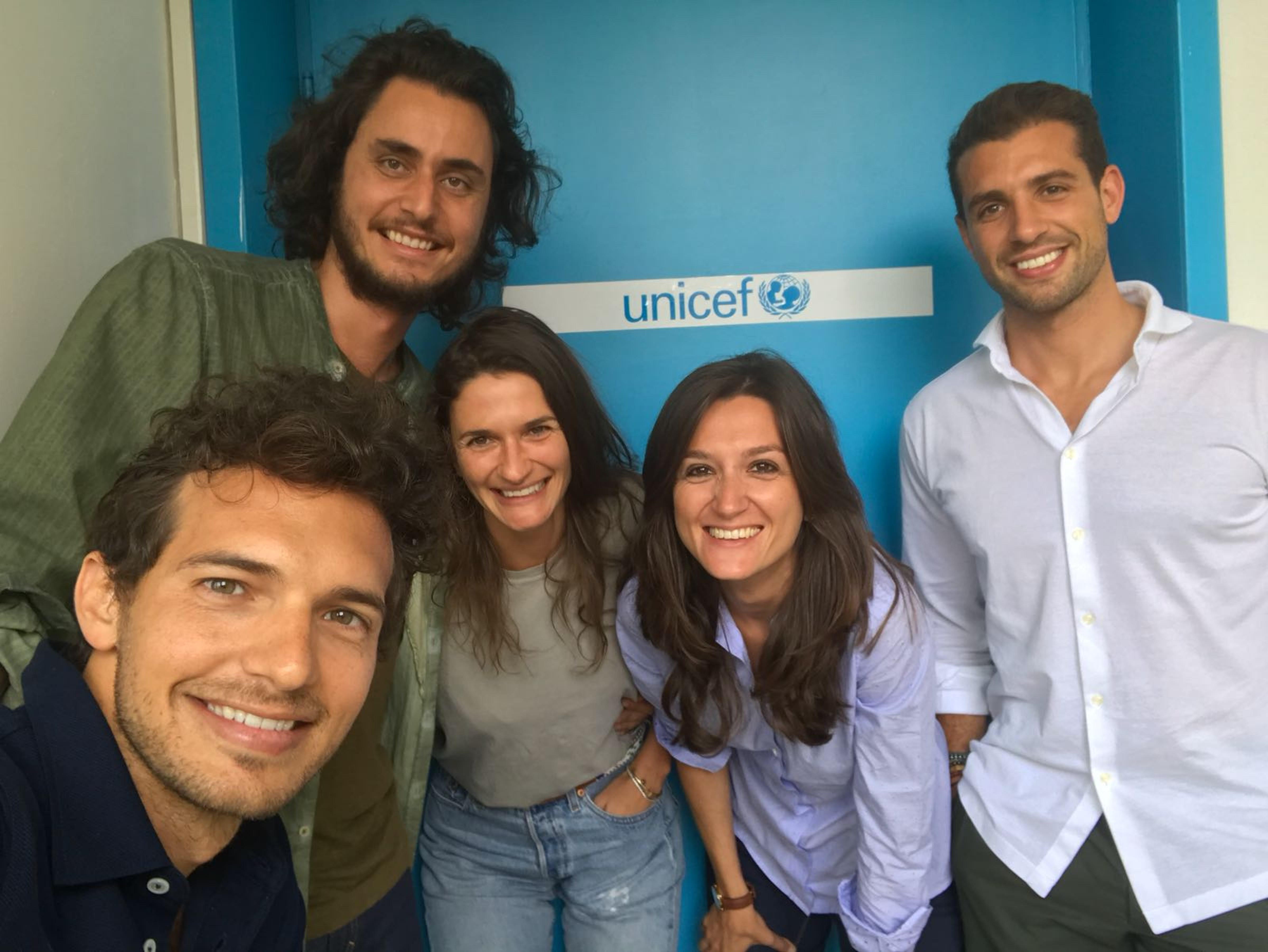 I 5 founder di Next Generation Italia - © UNICEF/Italia