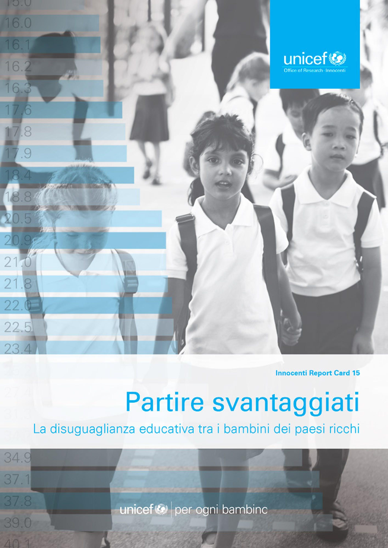 Partire svantaggiati, la disuguaglianza educativa tra i bambini dei paesi ricchi