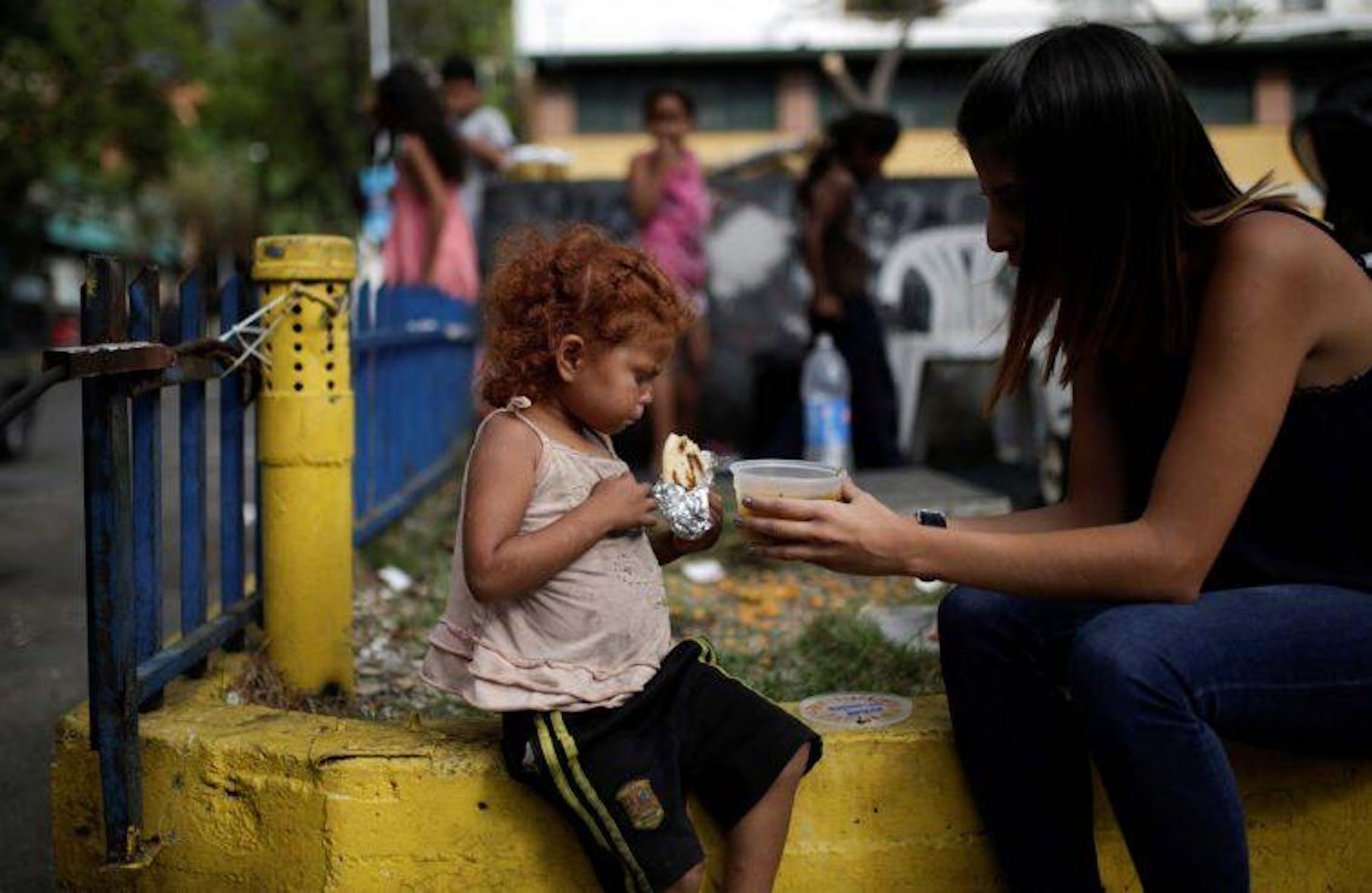 In Venezuela si stima che il 12% della popolazione sia affetto da denutrizione