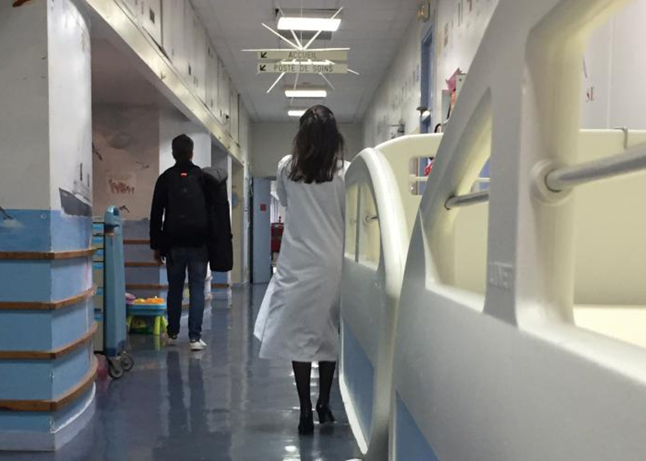 L'ospedale di Trousseau di Parigi dove sono ricoverati i bambini vittime dell'inquinamento - © UNICEF France