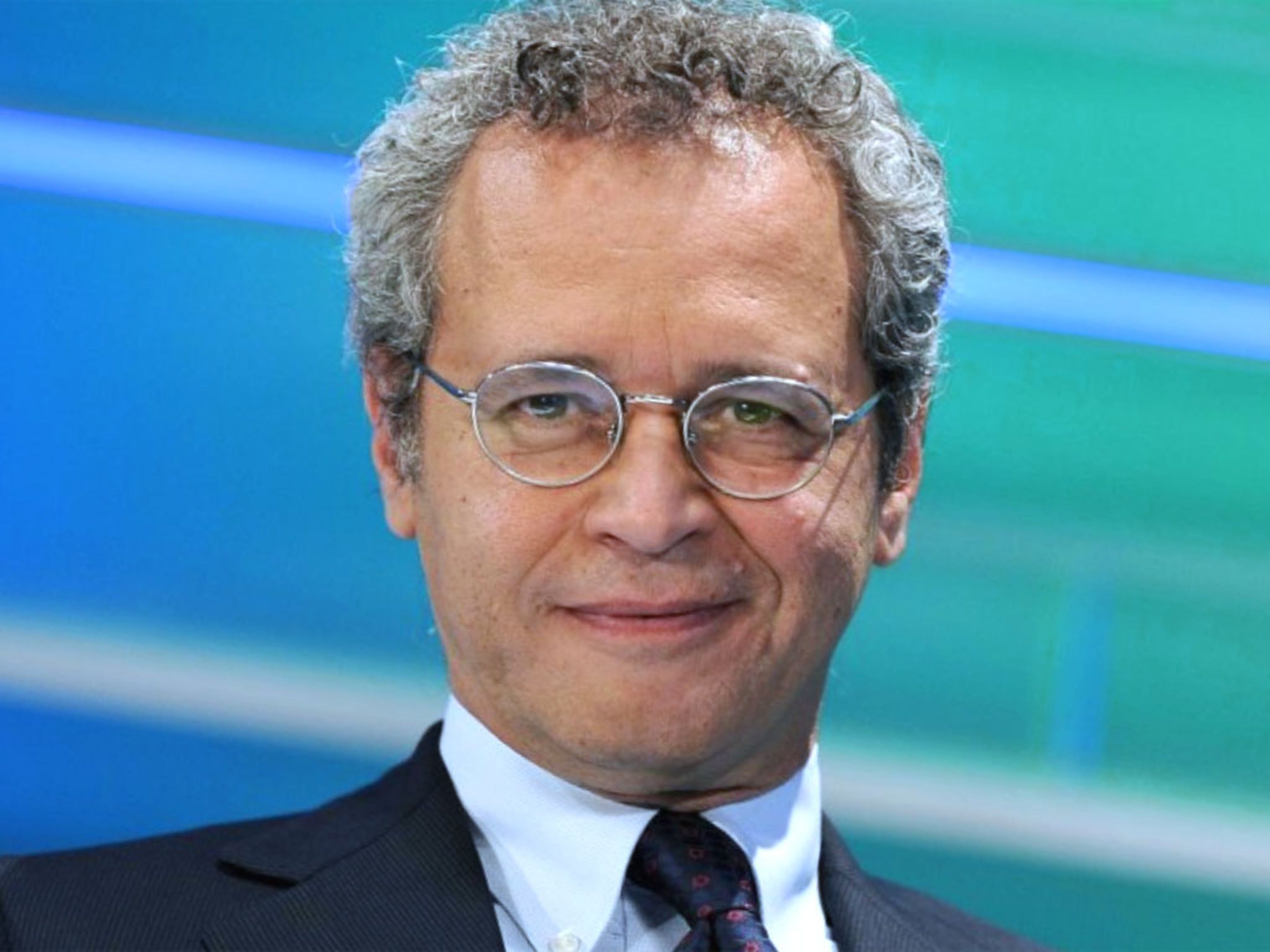 Enrico Mentana, vincitore del premio UNICEF