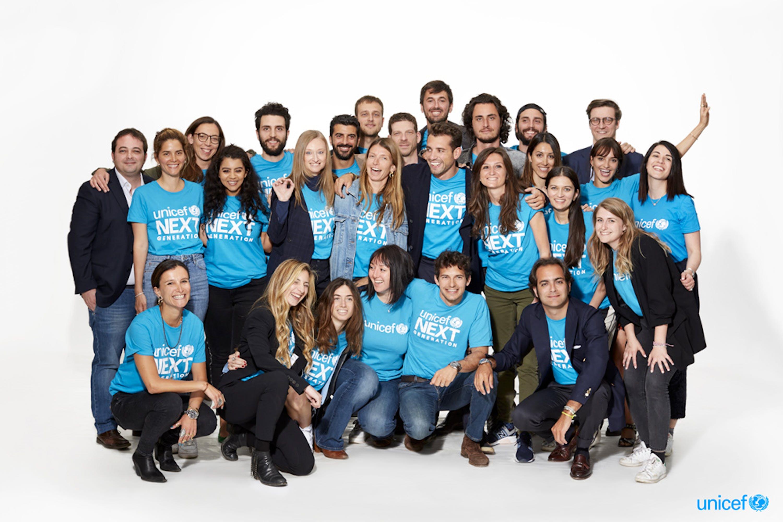 Il gruppo al completo di Next Generation Italia @UNICEF_Italia_2019_Zanetti