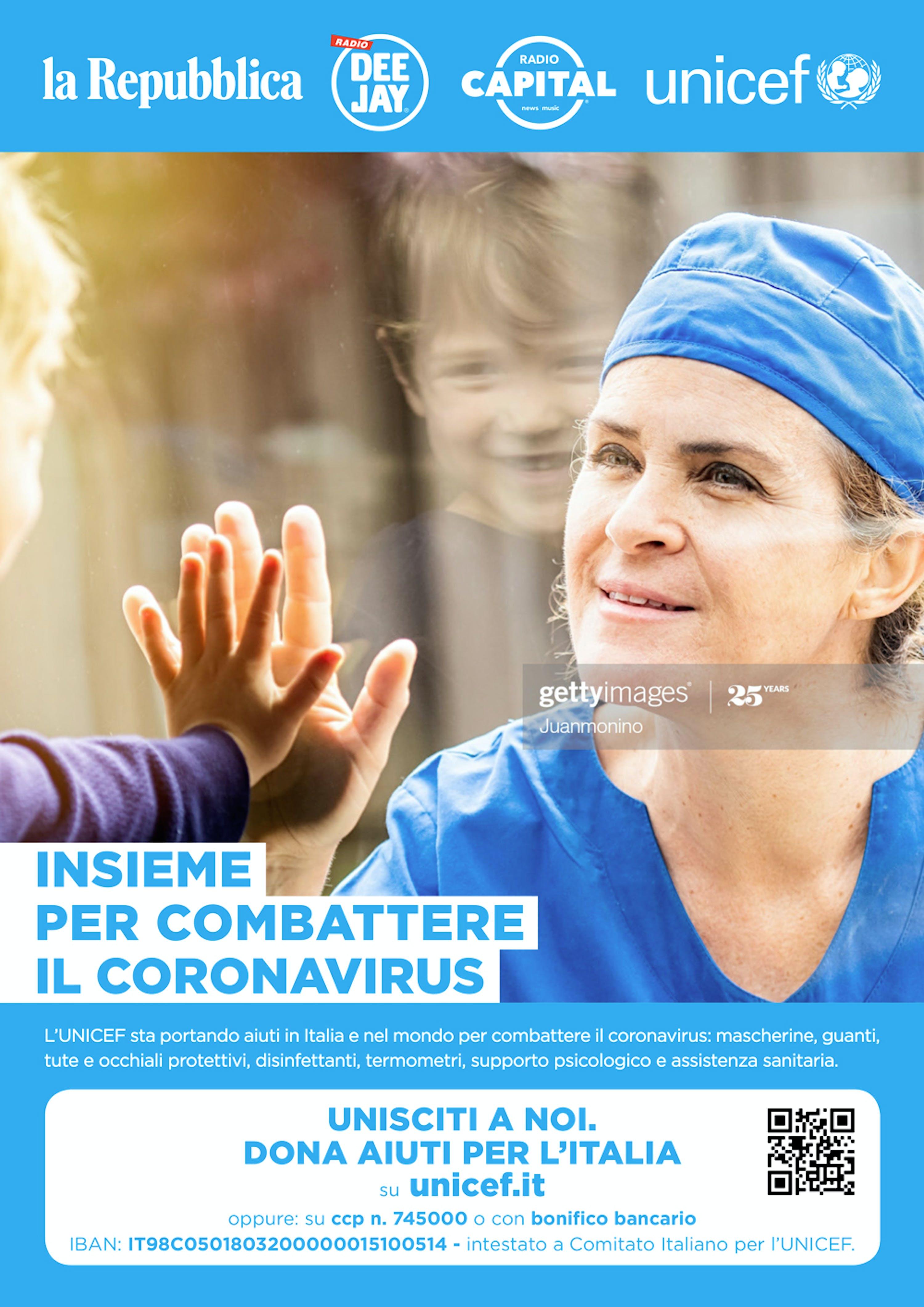 """la Repubblica, Radio DEEJAY e Radio Capital: """"Insieme per combattere il coronavirus"""""""