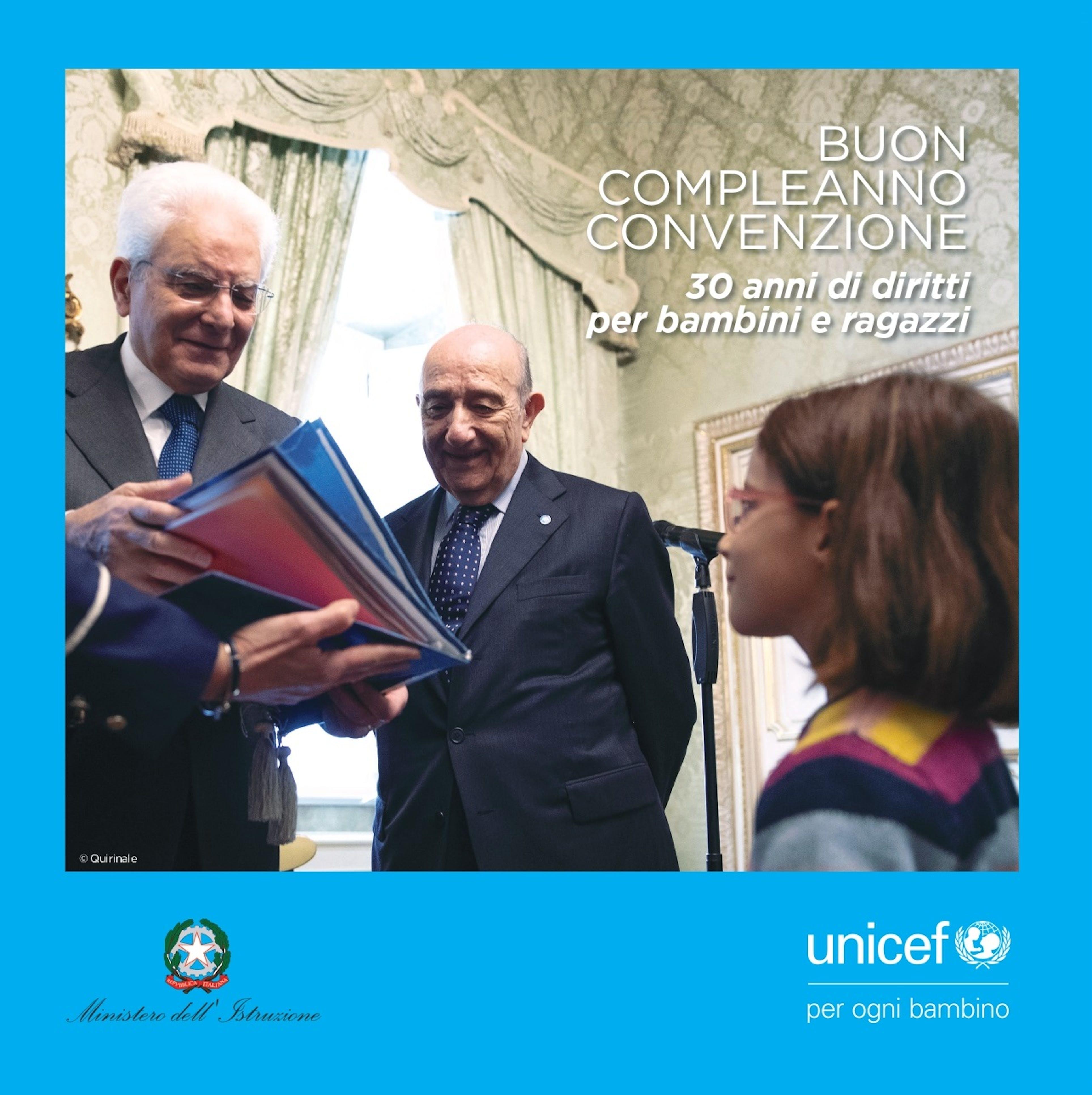 'BUON COMPLEANNO CONVENZIONE - una pubblicazione per i 30 anni dei diritti per i  bambini