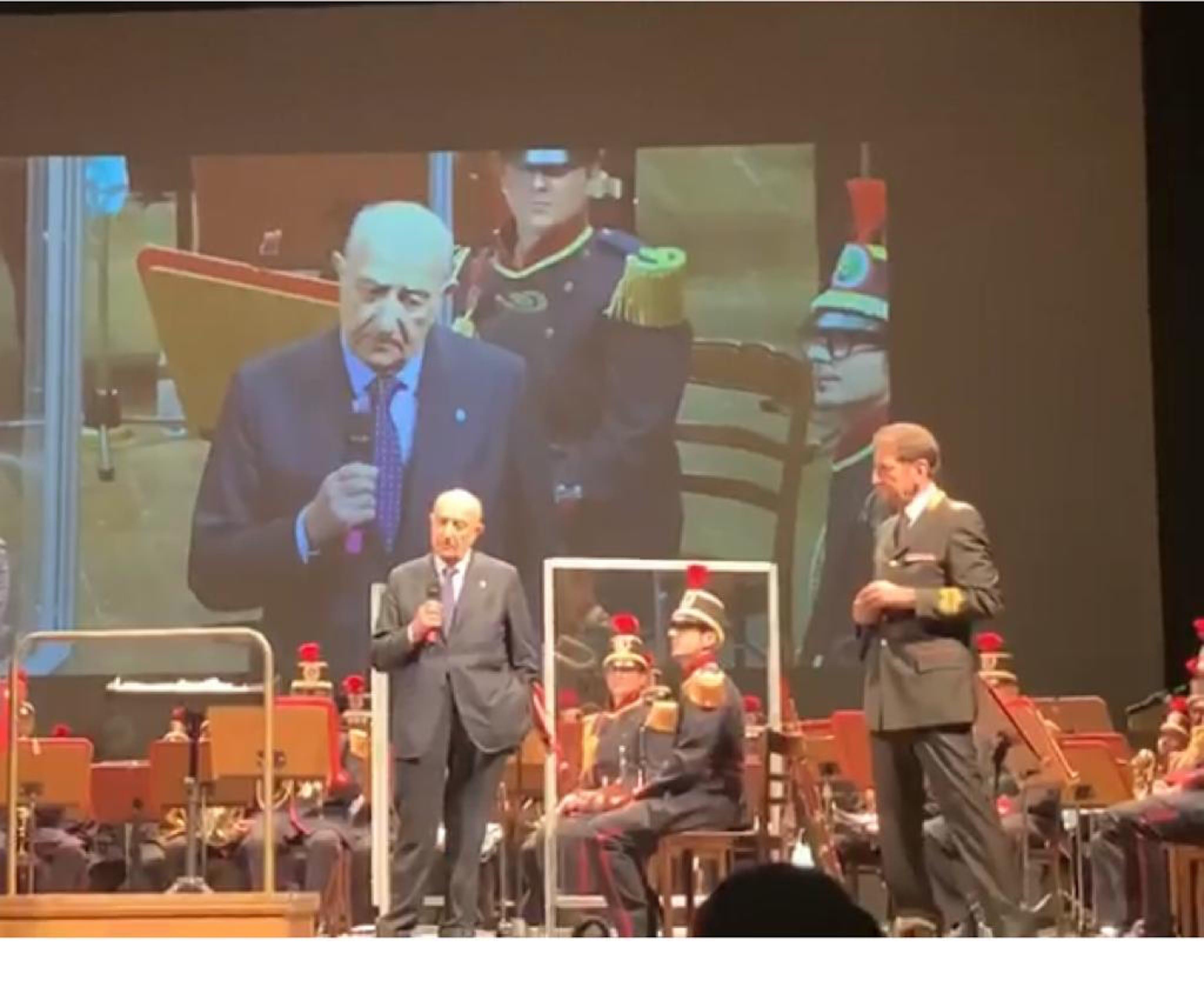 Il Presidente dell'UNICEF F. Samengo alla serata Uniti per non dimenticare
