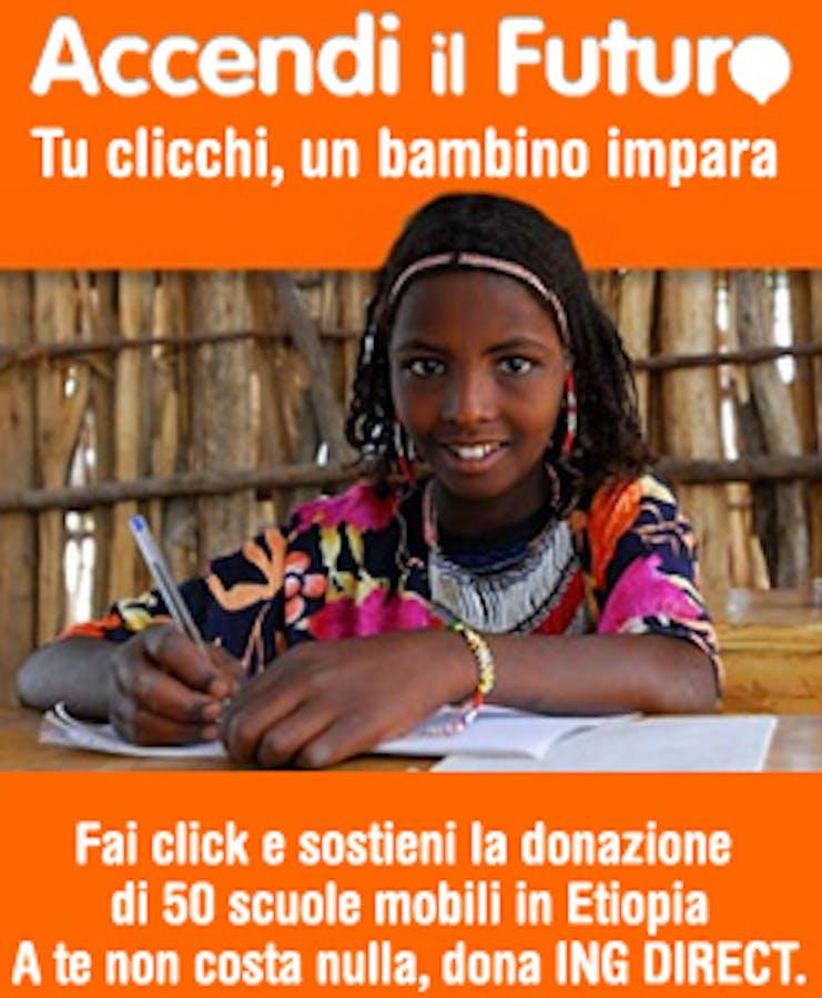 Partecipa con un click su www.accendilfuturo.it