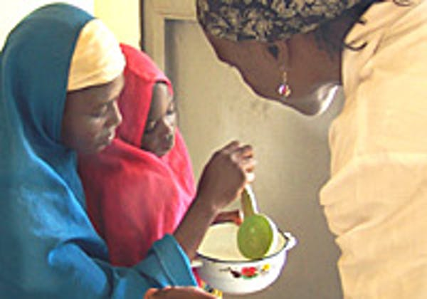 Soumaïya, la bambina protagonista di questa storia ©UNICEF Niger/2007/ Barger