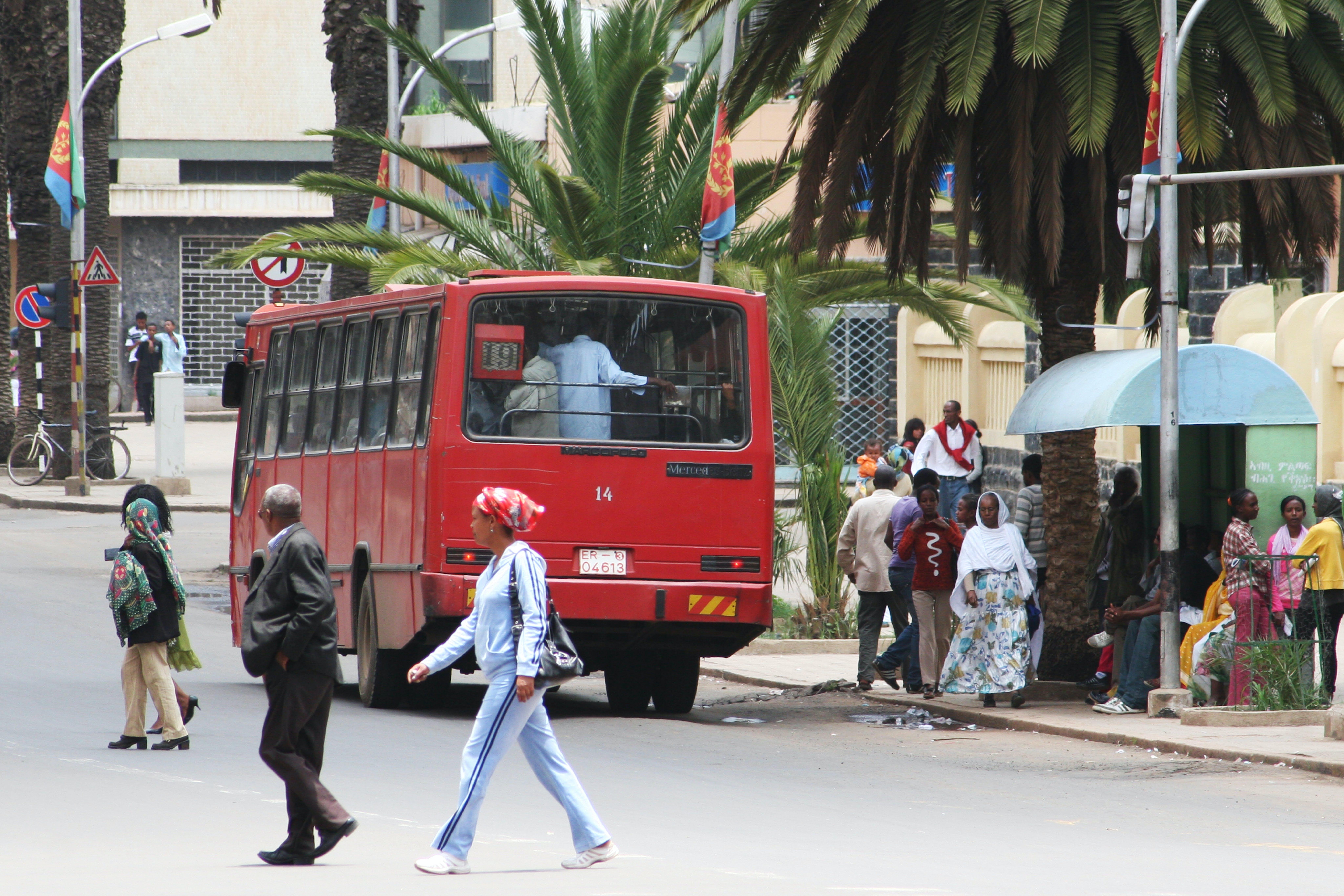 ©Patrizia Paternò UNICEF Italia. Harnet Avenue, la strada centrale di Asmara.