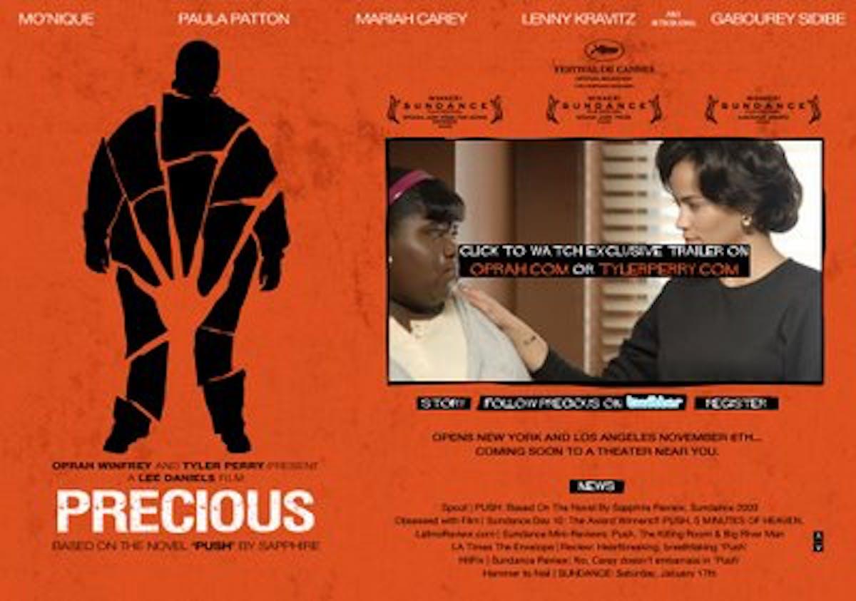 Precious: la locandina del film
