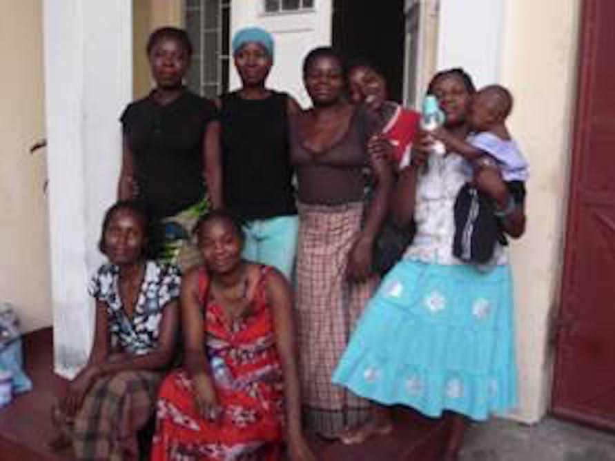 Le donne dell'associazione Kuplumussana