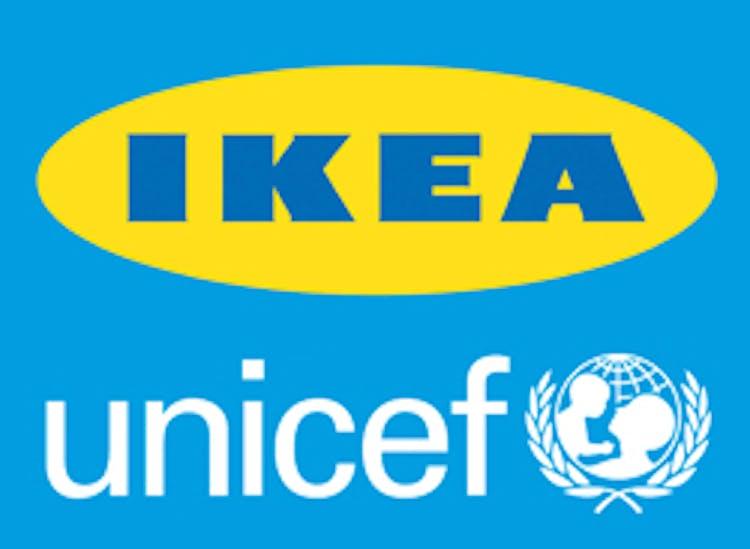 Dal 2003 ad oggi IKEA ha sostenuto i progetti UNICEF in 40 paesi, raggiungendo 8 milioni di bambini