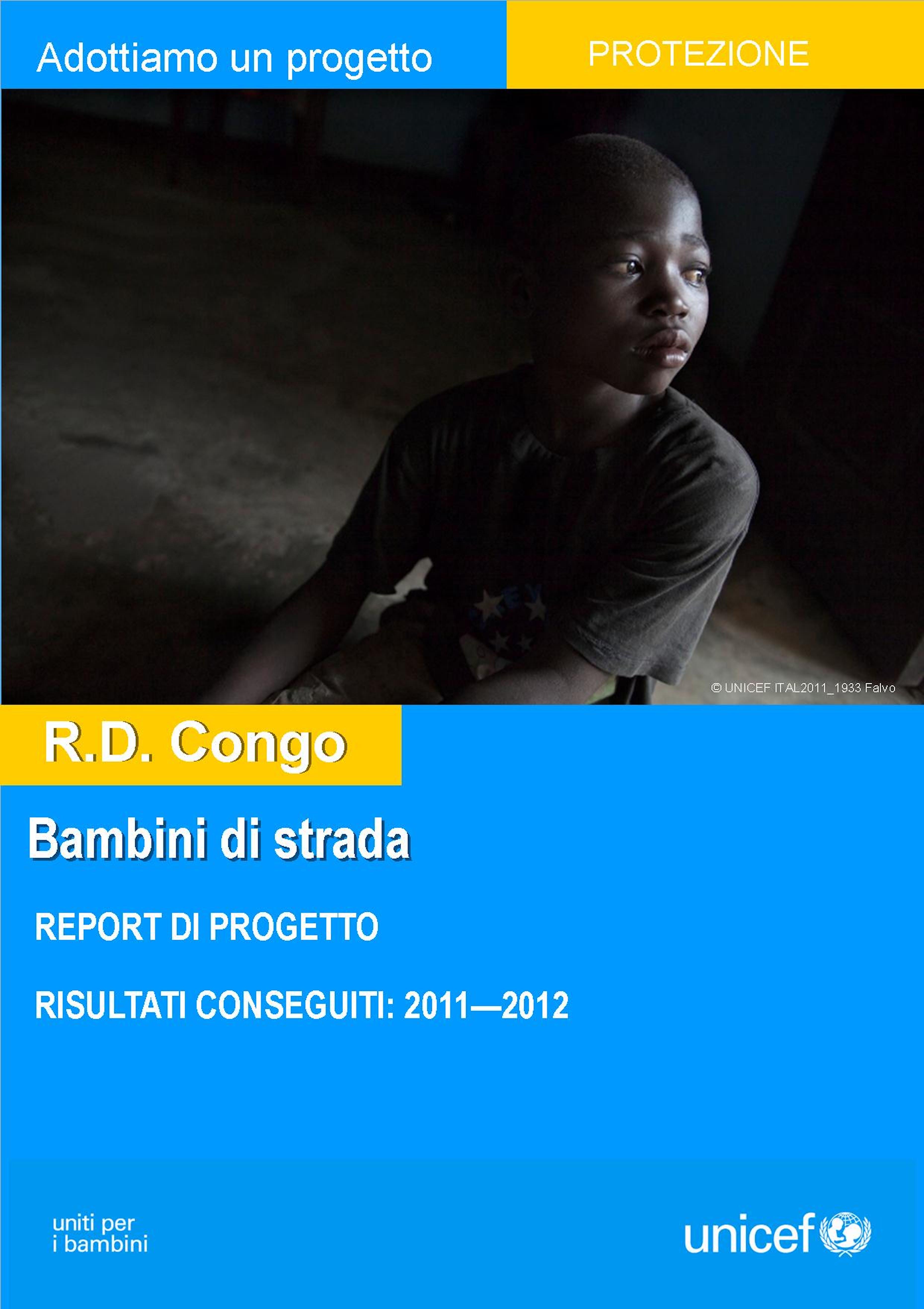 Report del progetto ''Bambini di strada'' nella Repubblica Democratica del Congo