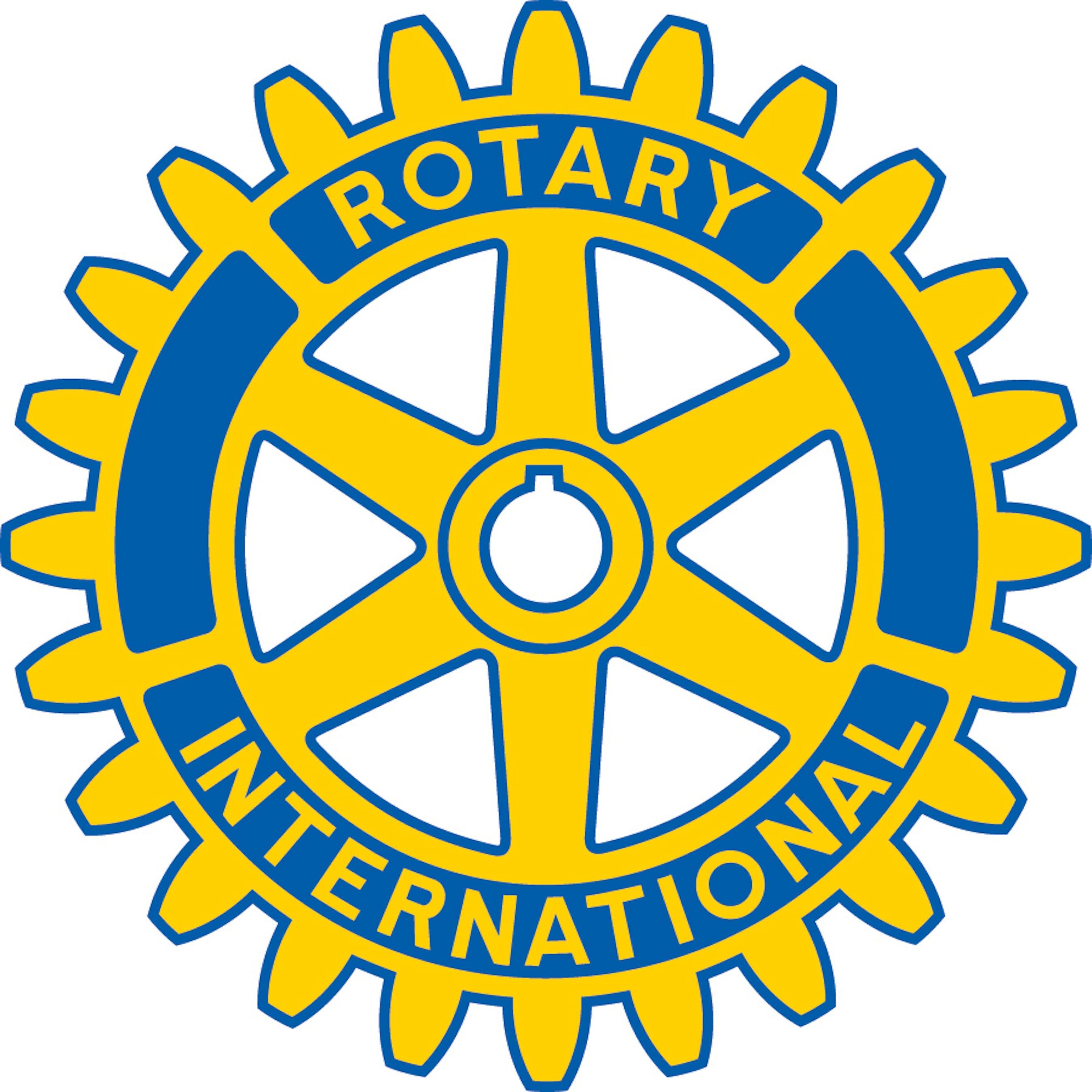 Il Logo del Rotary Club, organizzazione internazionale di servizio presente in tutto il mondo