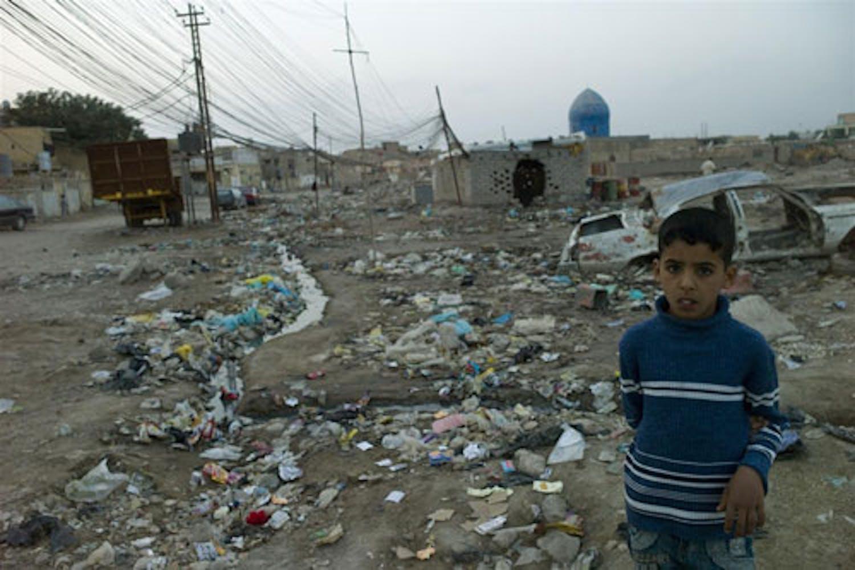 Un bambino nella città irachena di Nasariyah. ©UNICEFNYHQ2010-0694Kambe