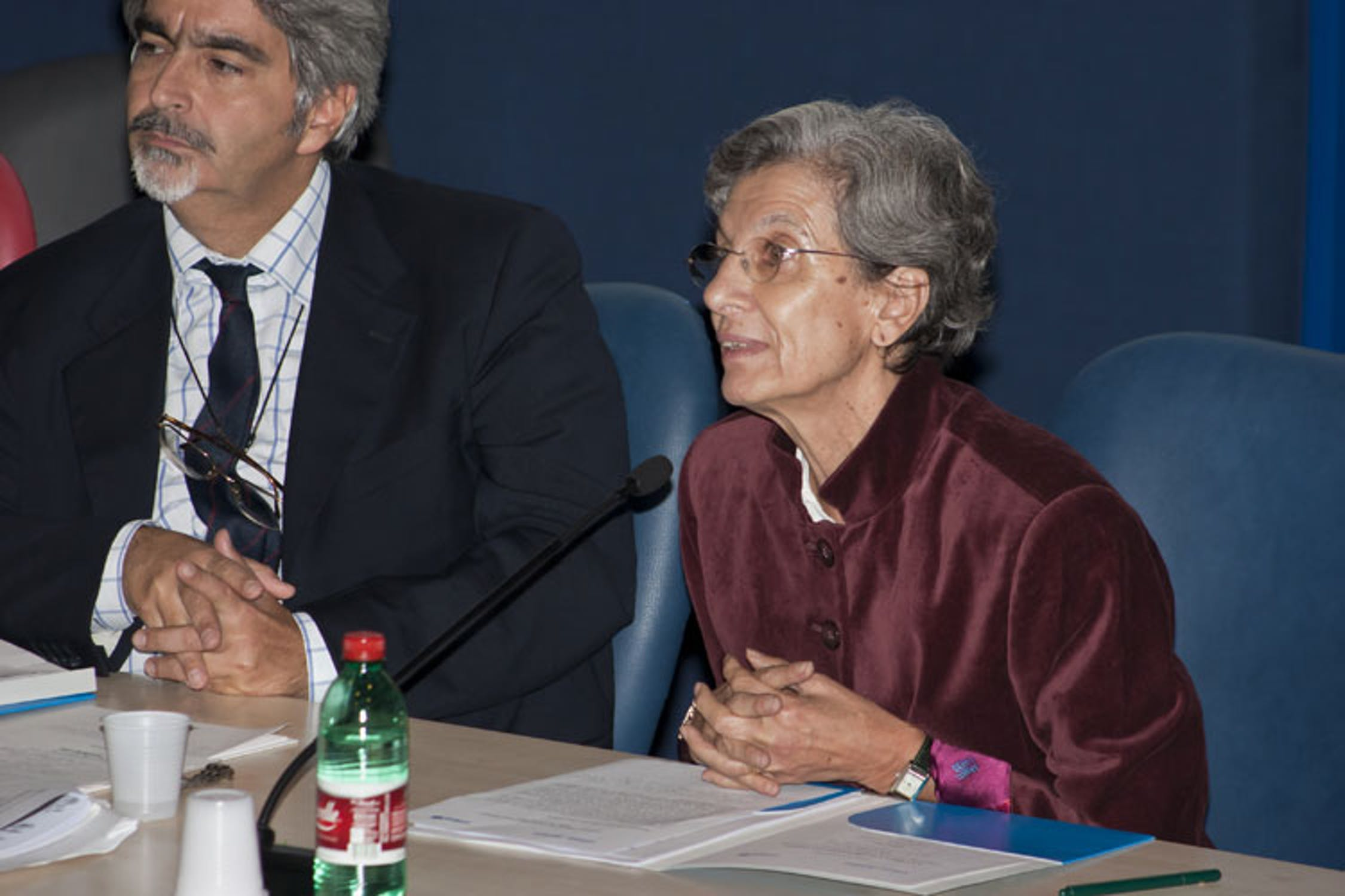 La sociologa Chiara Saraceno durante il suo intervento al Convegno - ©UNICEF Italia/2011/A.Longobardi