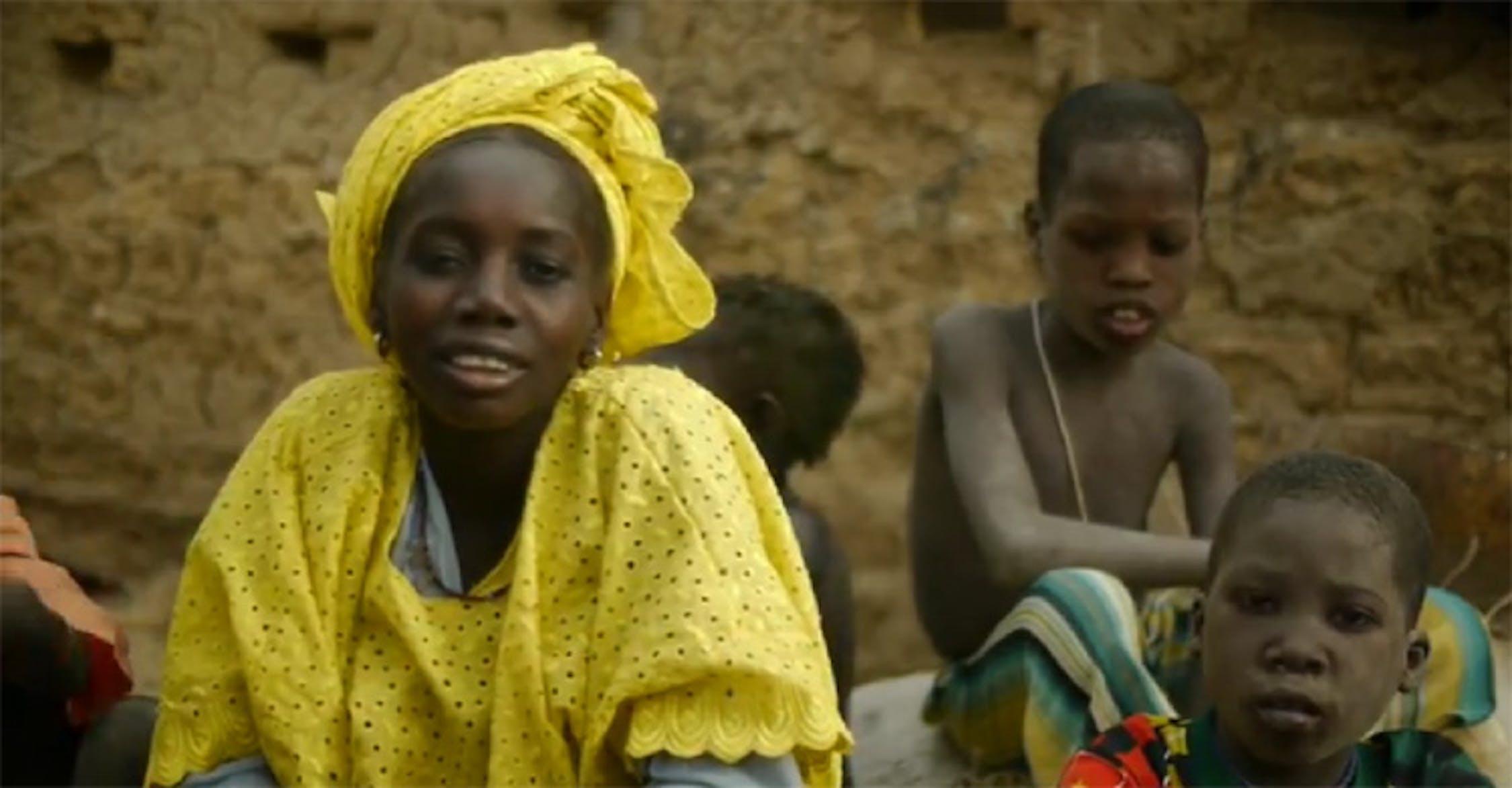 Mariam Dianapo, la madre di 5 figli di cui parla questa storia - ©UNICEF Video/2012