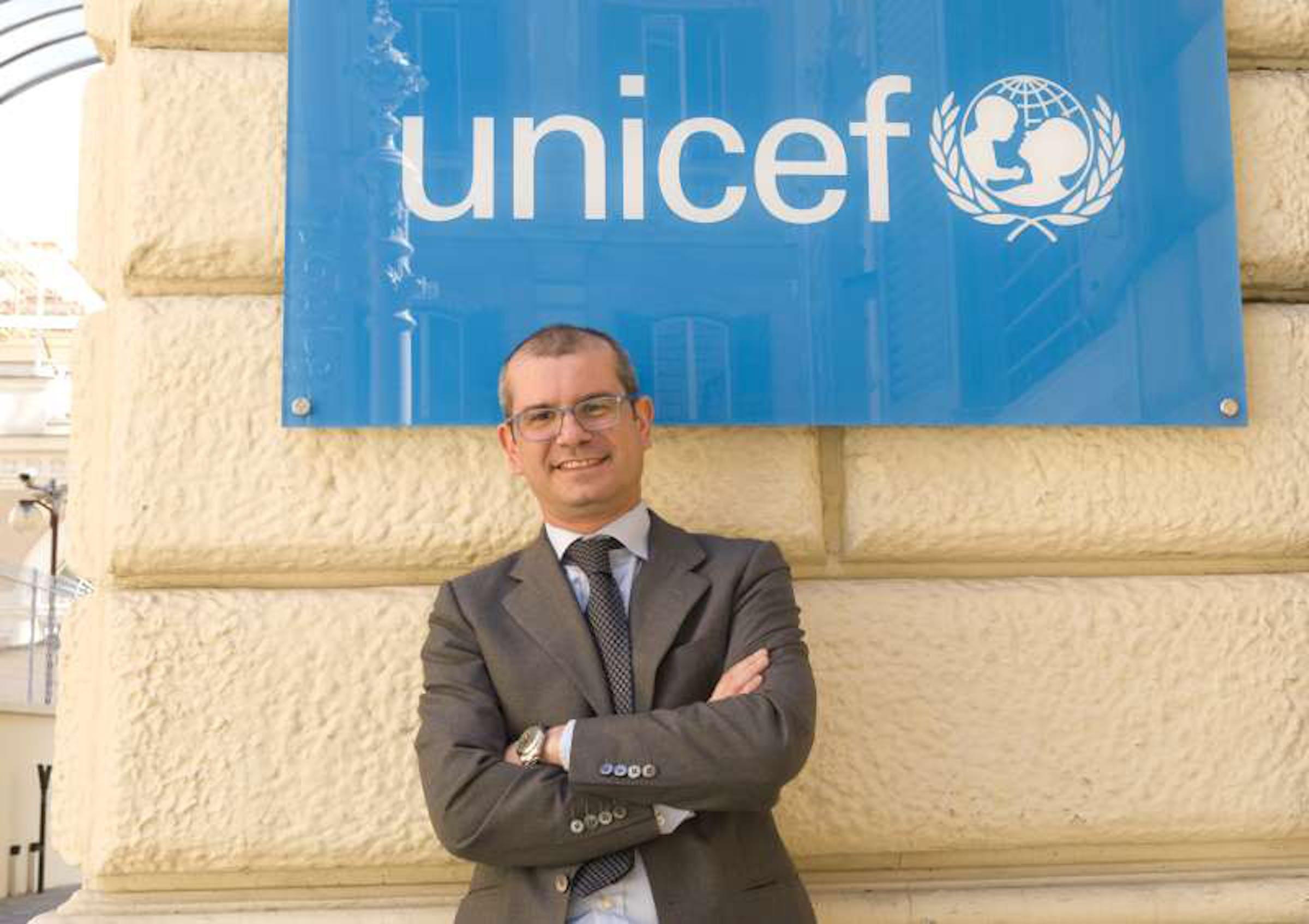 Davide Usai, Direttore generale dell'UNICEF Italia - ©UNICEF Italia/2012/Pino Pacifico