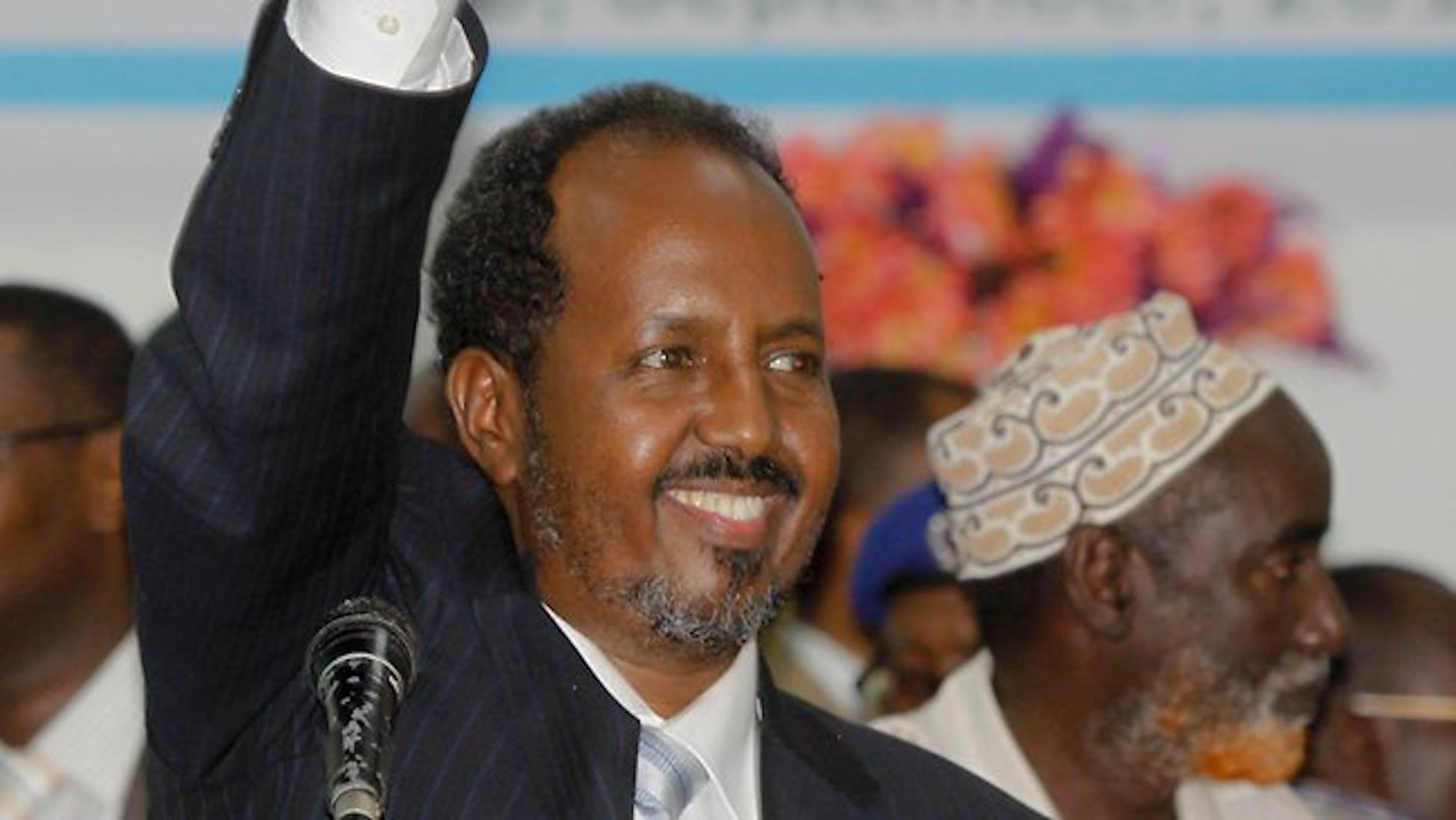 Il nuovo presidente della Somalia, Hassan Sheick Mohamud