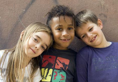 Alcuni alunni della scuola primaria Bottego di Bologna - ©UNICEF Italia/2011/Ada Lombardi