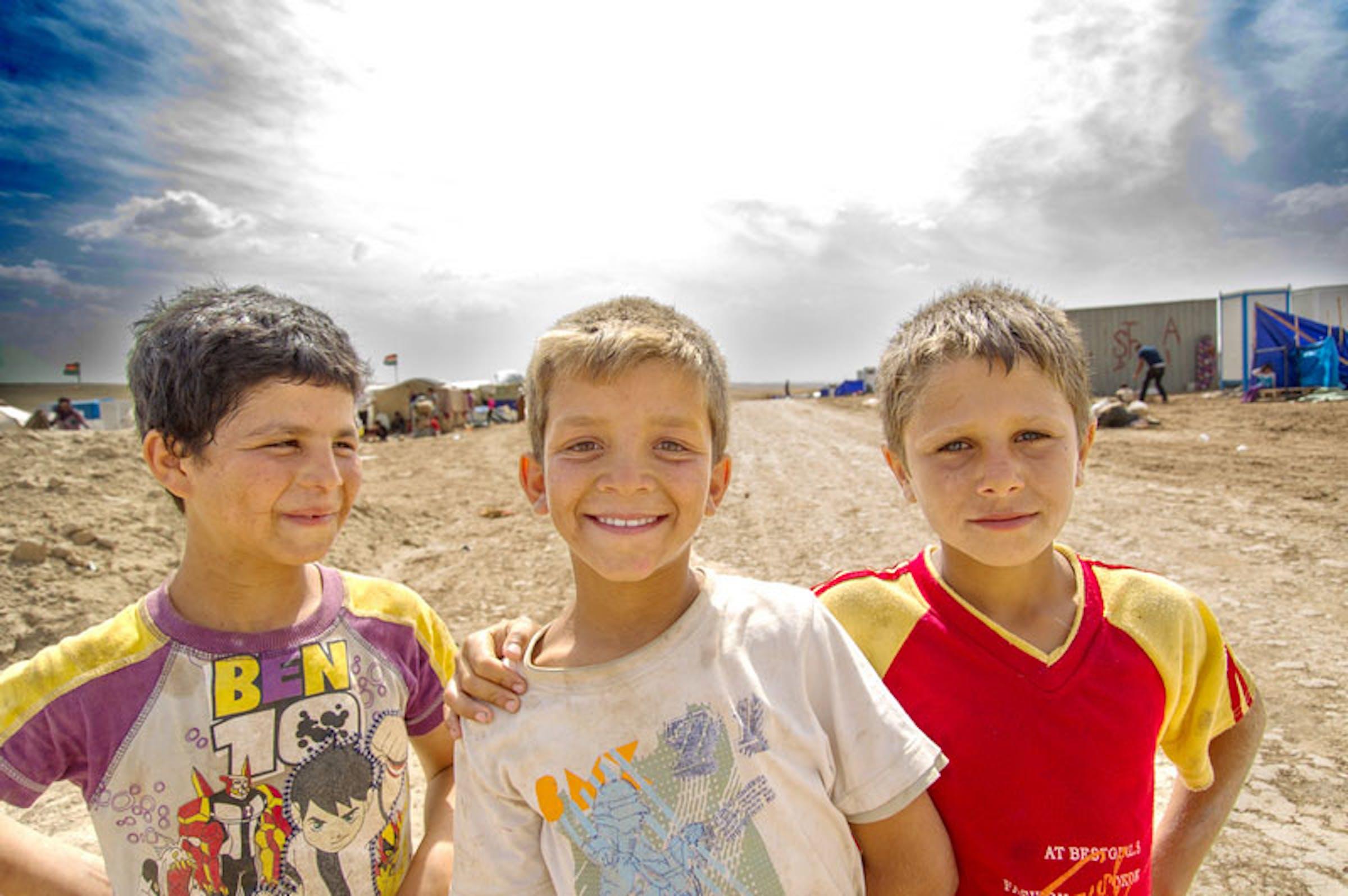 Bambini a Domiz - ©UNICEF Italia/2013/Pino Pacifico