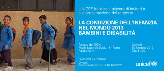 Rapporto UNICEF