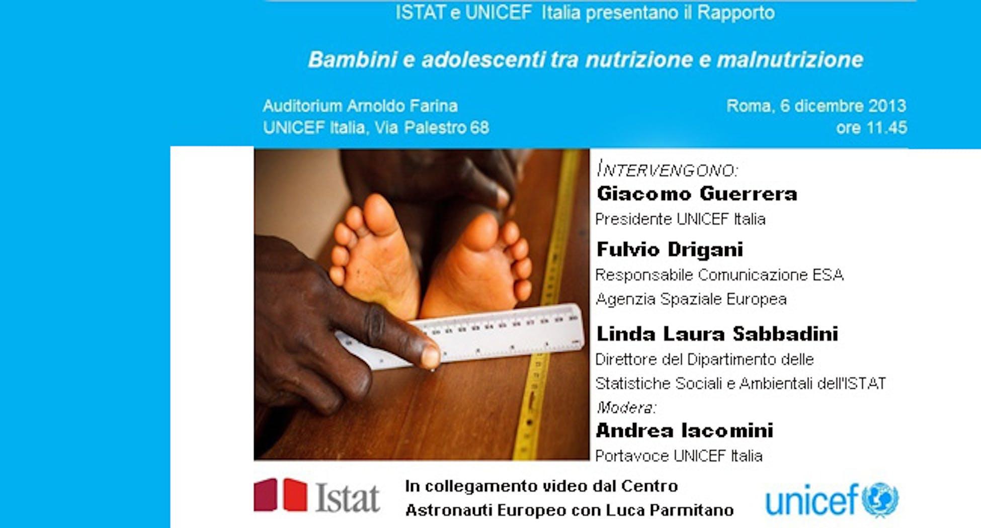 Bambini e adolescenti tra nutrizione e malnutrizione