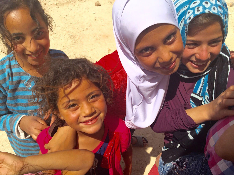 Bambini siriani del campo profughi di Za'atari (Giordania) - ©UNICEF Italia/2015