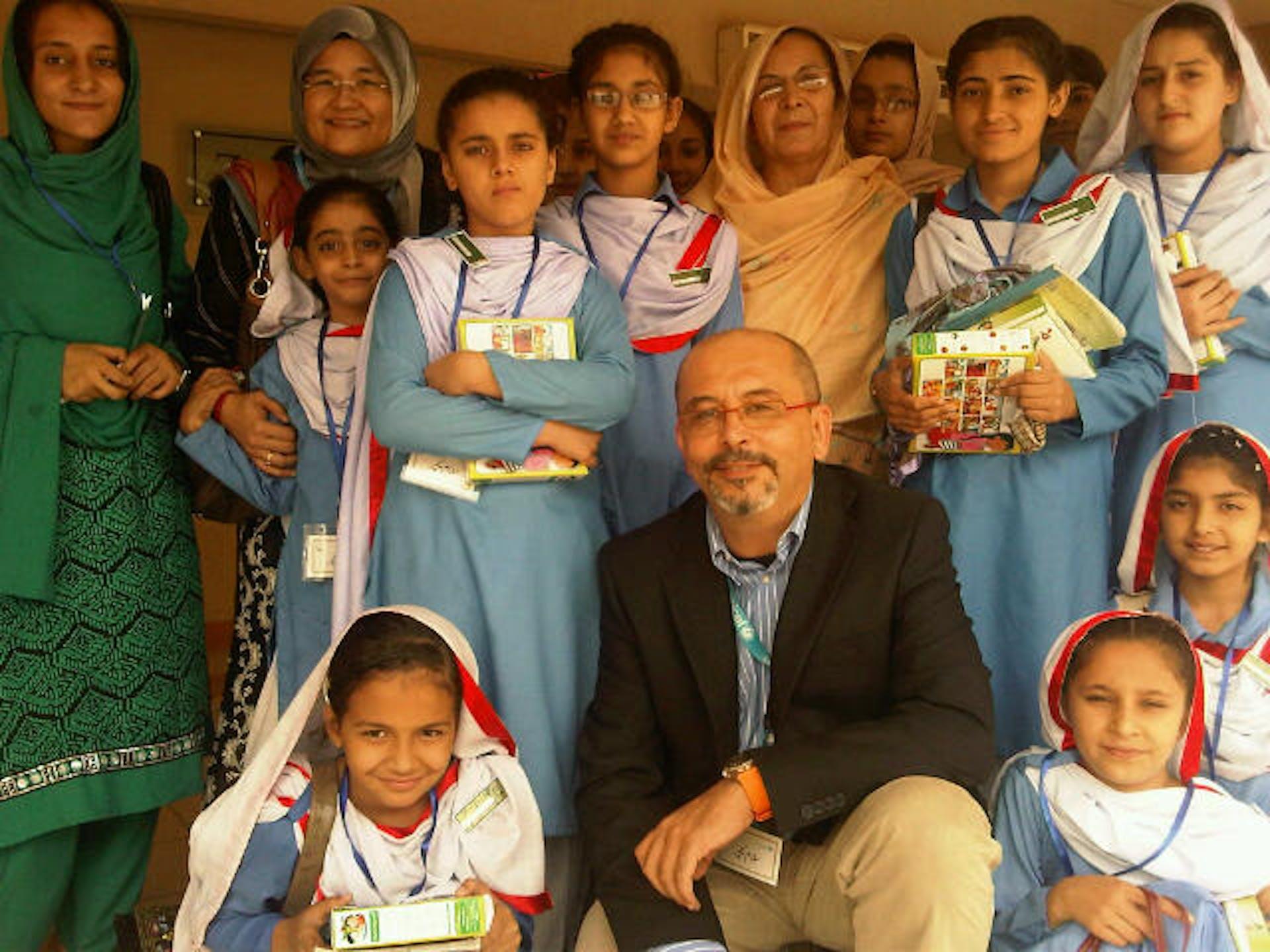 Lucio Melandri, Rappresentante UNICEF in Giordania