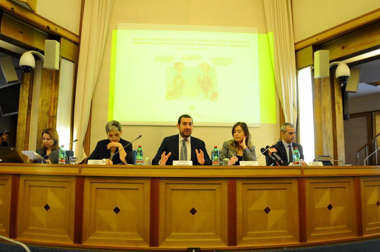 Da sin.: Federica Aguiari (UNICEF Italia), Liviana Marelli (