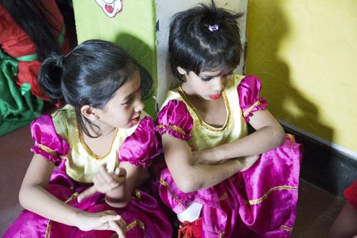 >Il Drop-in Centre per bambine di Bangshal - ©Neige De Benedetti per UNICEF Italia /2015