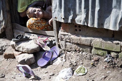 Vita di slum a Dacca - ©Neige De Benedetti per UNICEF/2015